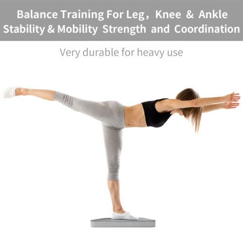 XPRT Fitness Balance Pad Stability Cushion Standing/&sitting mat FREE yoga strap