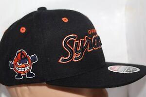 pretty nice fed97 f7166 Image is loading Syracuse-Orange-Zephyr-NCAA-Headliner-Snapback-Cap-Hat-