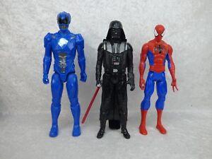 Figurine 28cm SPIDERMAN DARK VADOR POWER RANGERS    AU CHOIX