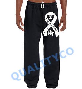 Men/'s Live Jiu Jitsu Ribbon Sweatpants BJJ Training Beast Gym MMA Workout Pants