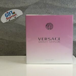 BRIGHT-CRYSTAL-by-Versace-3-0-oz-EDT-Spray-2-Piece-Gift-Set-Box-for-Women