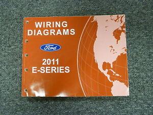 2011 Ford E150 E Series Van Wiring Diagram Manual XL XLT ...