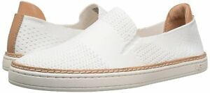 a6f8a9ff26d Details about Women's Shoes UGG Sammy Slip On Hyper Weave Casual Sneakers  1016756 White New*