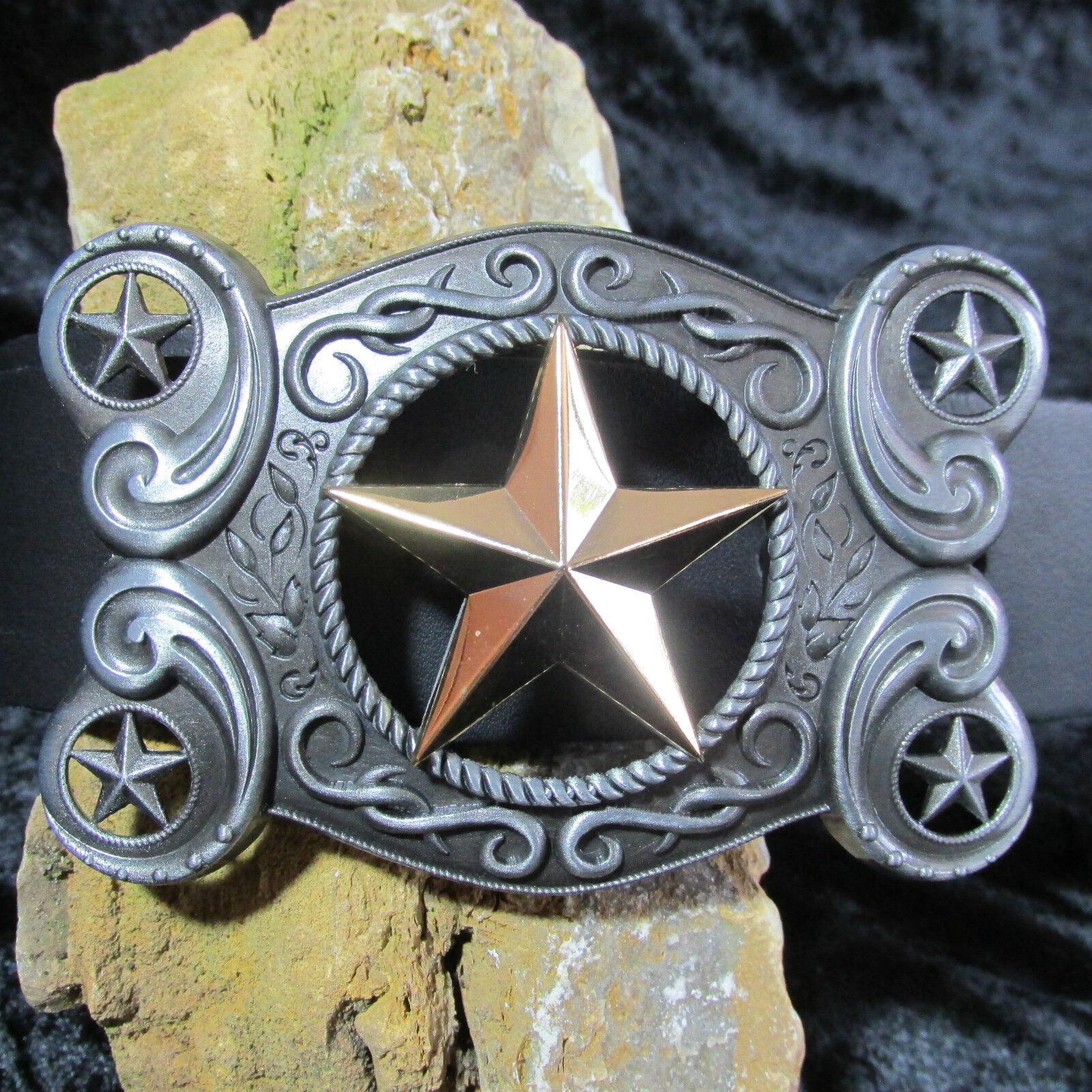 # 0230 Belt Buckle, Buckle, Texas Star, five stars, 5 Stars, USA, Texas,