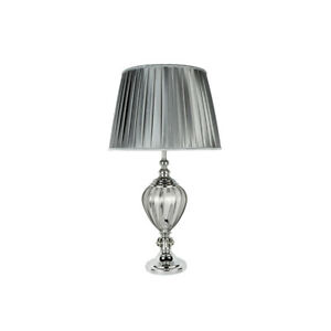 Searchlight 3721cl urn chrome table lamp clear glass pewter image is loading searchlight 3721cl urn chrome table lamp clear glass aloadofball Image collections