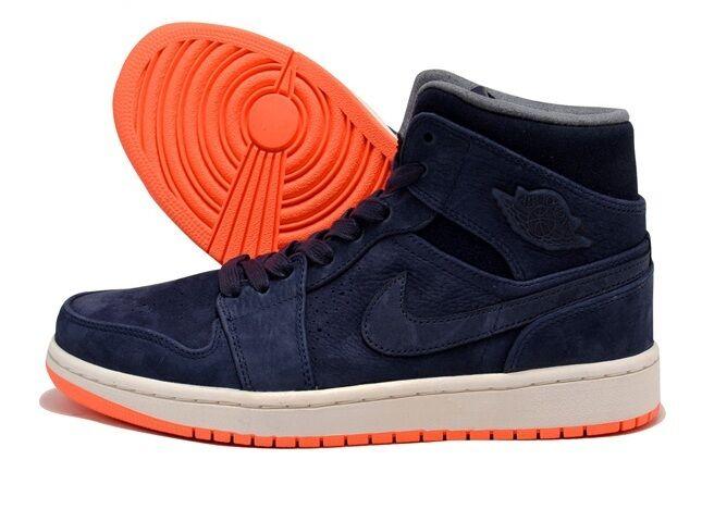 New Men's Air Jordan 1 Mid Nouveau Shoes (629151-403) Men US 12 / / Eur 46