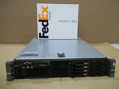 Dell PowerEdge R710 Server 2x2.26GHz 8 Core 48GB 4x300GB Quad Gigabit w/RAILS