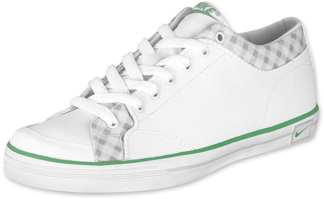 NIKE Capri SI ES Weiß Weiß Gr:42 US:8,5 flash sneaker leder 318426-100 schuhe