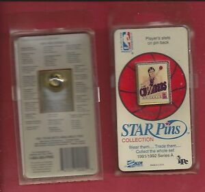 Image Is Loading 1991 NBA Star Pins Collection Tom Chambers Pin