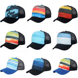 5429286f46c36 Image is loading Sublimation-Trucker-Mesh-Hat-Blank-5-Panel-Snapback-