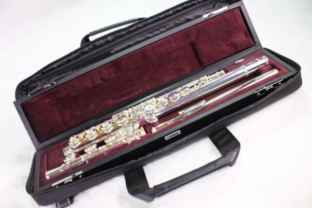 Yamaha YFL-362H Intermediate Flute Silver Head Offset G B Foot MINT CONDITION