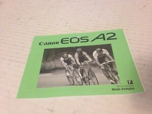 CANON EOS A2 INSTRUCTION MANUAL French