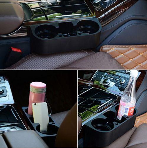 2x Universal Flaschenhalter Auto KFZ PKW Getränkehalter BMW Audi VW Seat Ford