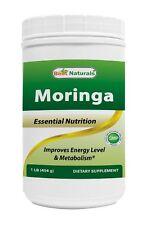 Best Naturals Moringa leaf Powder Great For Energy, Nutrition 1 LB -- exp 2019