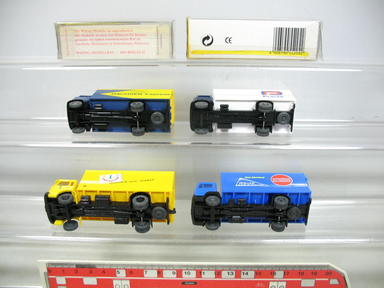 AF252-0,5x AF252-0,5x AF252-0,5x Wiking H0 LKW Mercedes MB  Dachser+Pracht+Buchbinder+Post, NEUW 6a5b6a
