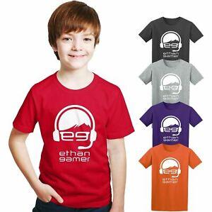Egtv  Ethhan Youtuber Gamer Funny T-Shirt Unisex Kids Best Birthday Gift Tee