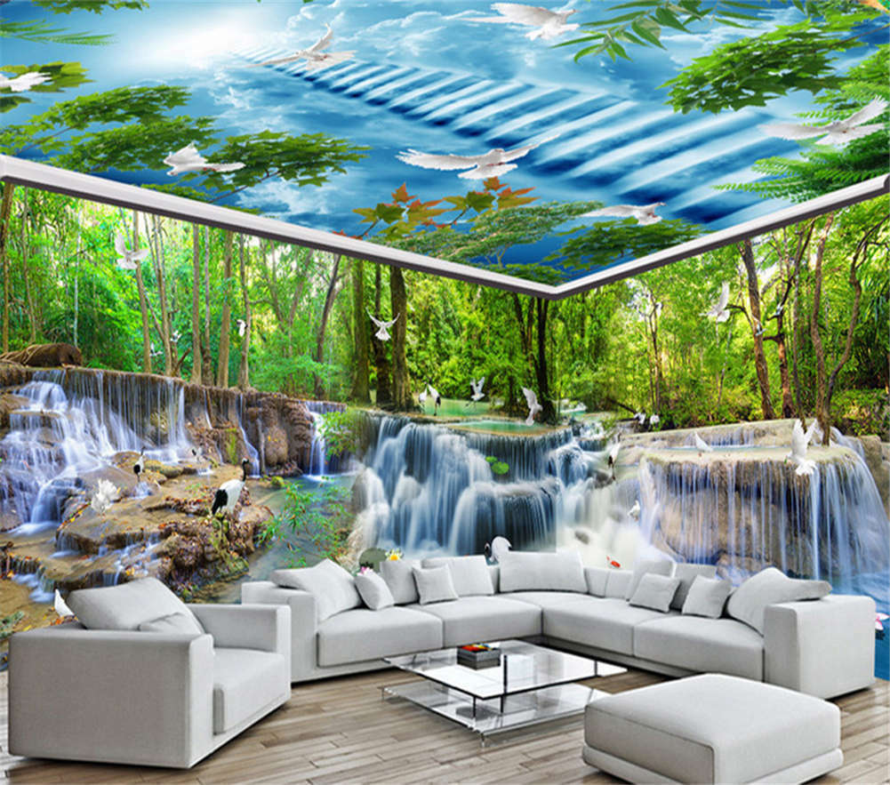 Beautiful Fairy Tale 3D Full Full Full Wall Mural Photo Wallpaper Printing Home Kids Decor 651f50