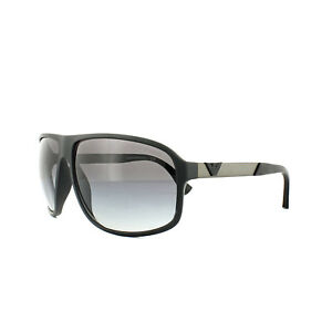 67c0ec92 Details about Emporio Armani Sunglasses 4029 50638G Black Rubber Grey  Gradient