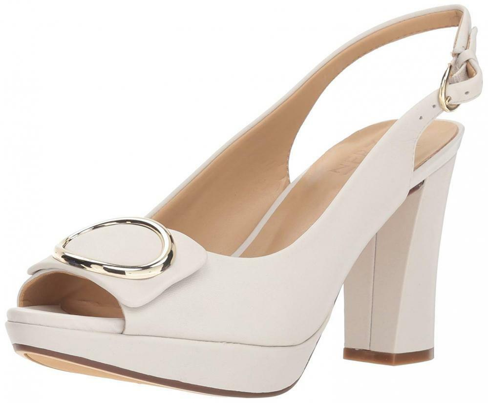 Naturalizer femmes Abby Pump Classics Platform High Heel Leather Sandals Comfort
