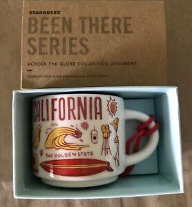 Starbucks 2oz (NOT 14OZ) CALIFORNIA BEEN THERE mug Ornament Cup Mini Mug