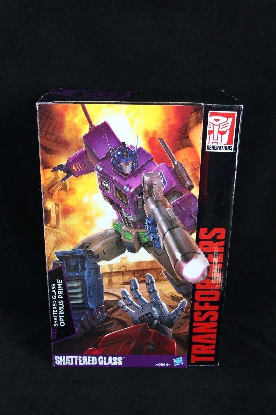 Transformers Hasbro Masterpiece MP-10SG Optimus Prime de vidrio destrozado nuevo sin usar y en Caja Sellada