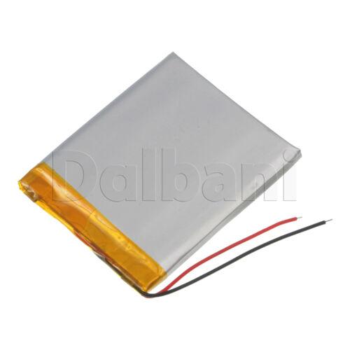 New 3.7V 1400mAh 505058 Internal Li-ion Polymer Battery 58x50x5mm 29-16-0010