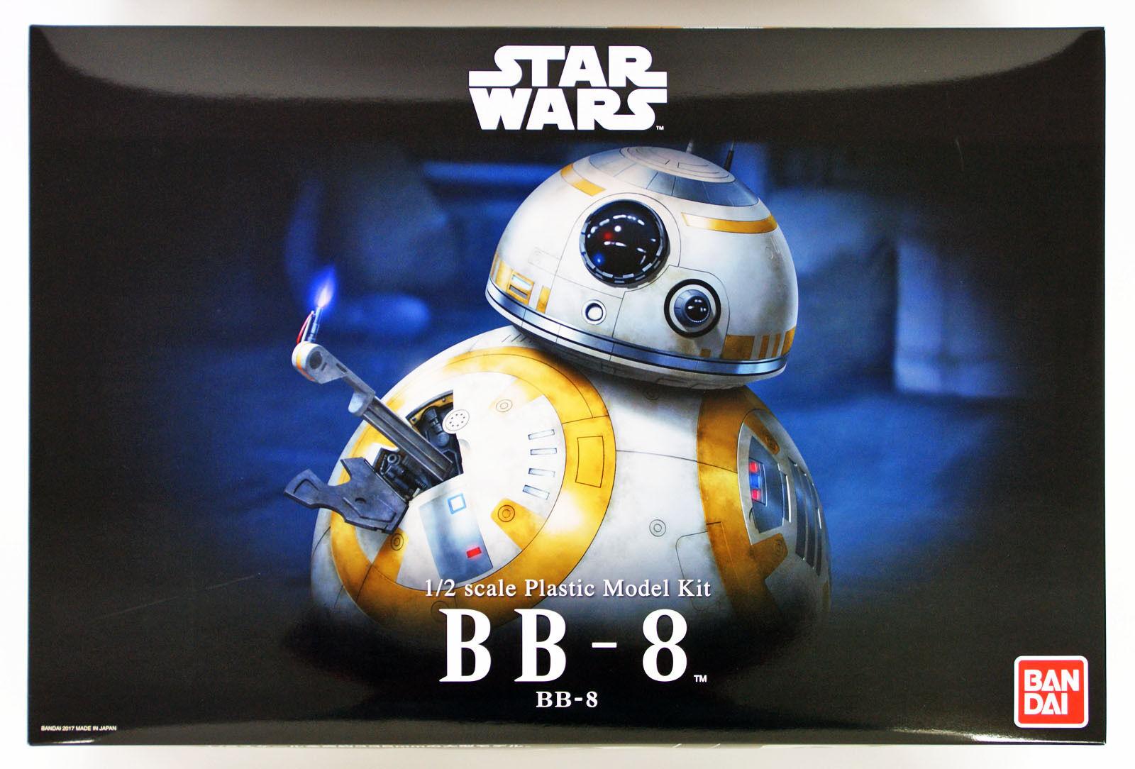 Bandai Star Wars BB-8 1 2 scale Kit 090588