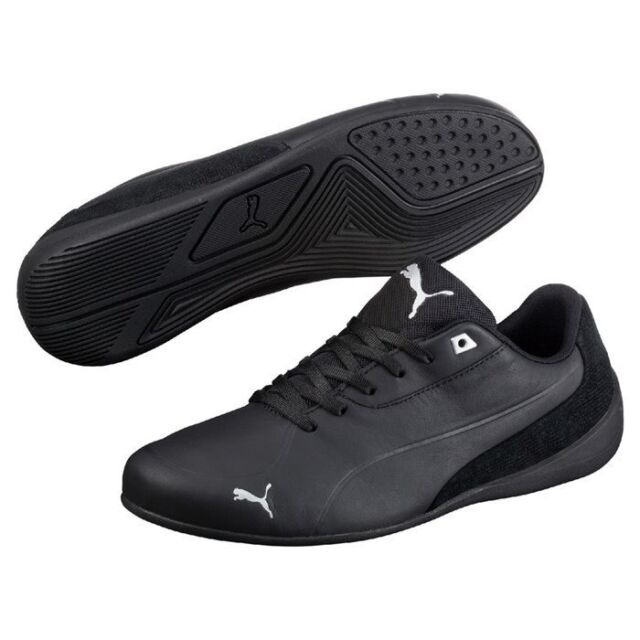 PUMA Men s SNEAKERS Drift Cat 7 CLN Shoes Black Leather Motorsport ... d36ee71a06a93
