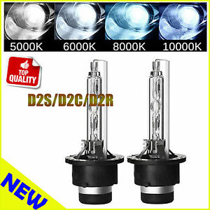 Pair-35W-D2S-OEM-HID-Xenon-Bulbs-Factory-Headlamps-85122-66240-Choose-Color