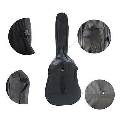 38 inch Oxford Gig Bag Case for Electric Acoustic Guitar Black New