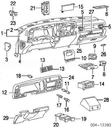 Buy Dodge Ram Dash Ashtray Assembly Ash Tray 4746178 4746176 94 95