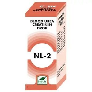 Details about New Life NL-2 Blood Urea And Creatinin Drops Homeopathic  Remedy 30ml