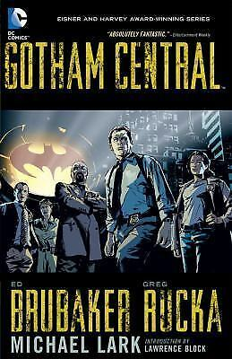 Gotham Central Omnibus by Ed Brubaker and Greg Rucka (2016, Hardcover)
