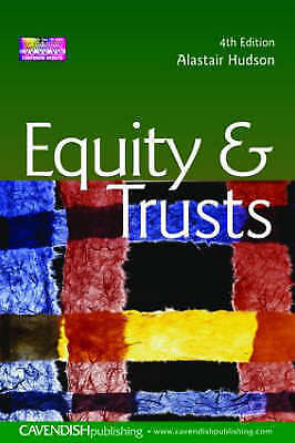 1 of 1 - Equity and Trusts, Hudson, Alastair, New Book