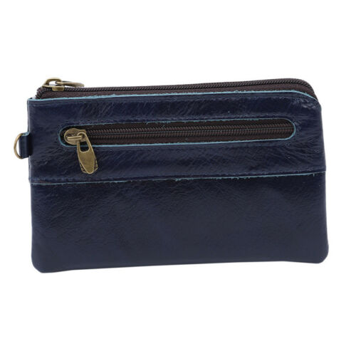 Women Men PU Leather Retro Wallet Card Holder Coin Purse Clutch Small Pouch CB