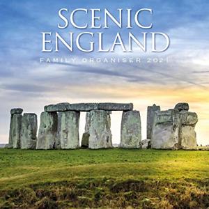 2021 Calendar Scenic England Family Organiser