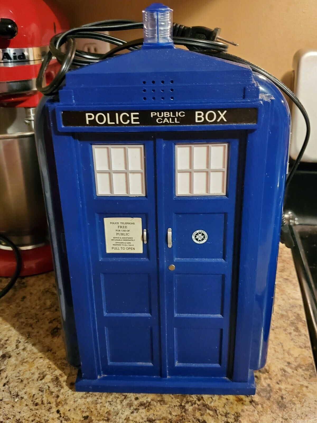TARDIS Metal Can Cooler-IKO0615 Doctor Who