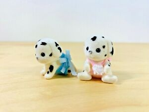 Sylvanian-Families-Black-Spotted-Dalmatian-Twins-Dash-amp-Dot-Kennelworth-Babies