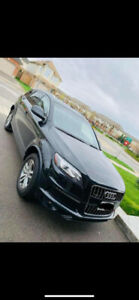 AUDI Q7 2012 BLACK MINIVAN FOR SALE