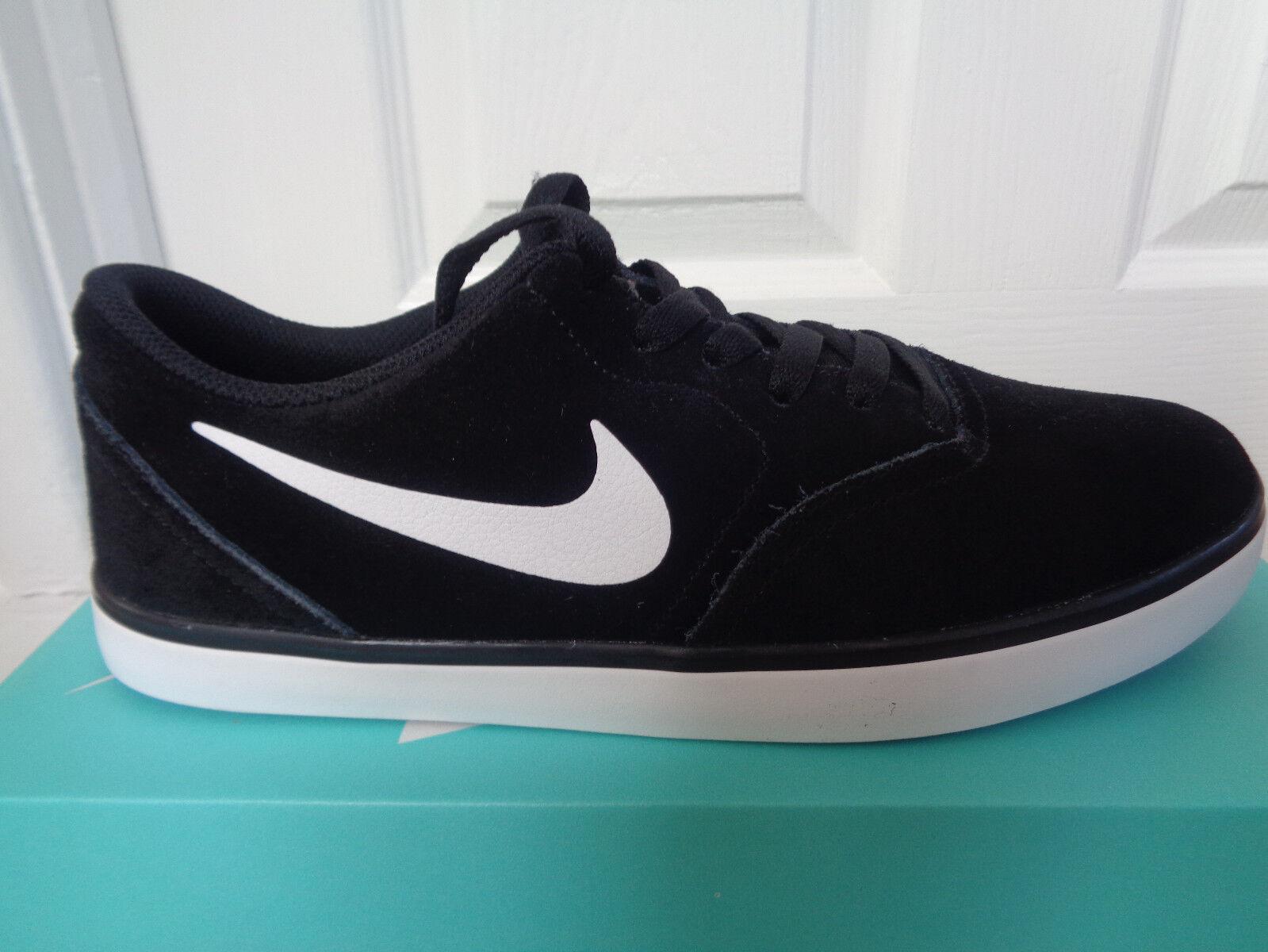 Nike SB Check trainers Turnschuhe schuhe 705265 006 uk 8.5 eu 43 us 9.5 NEW+BOX