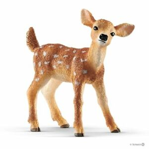 Schleich-14820-White-tailed-Fawn-Deer-Toy-Wild-Animal-Figurine-2019-NIP