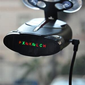 360 degr voiture vitesse radar gps police s curit d tecteur alerte vocale laser ebay. Black Bedroom Furniture Sets. Home Design Ideas