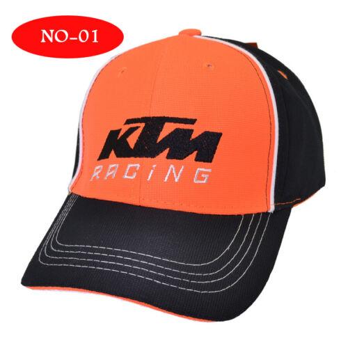 Mens Embroidered KTM Hat MOTO GP Motorcycle Baseball Cap Snapback Racing Caps