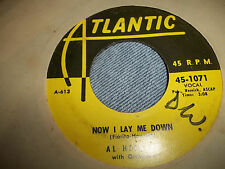 Al Hibbler Danny Boy & Now I Lay Me Down Atlantic Yellow label 45 SOLID VG+