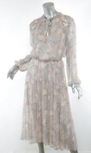 09d6a85ee6aa Image is loading ZIMMERMANN-Pastel-Floral-STRANDED-GARLAND-Flowy-Tiered-Long -