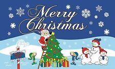 5' x 3' Santa im Nordpol Frohe Weihnachten Flagge Happy weihnachten Party-Banner