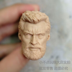 Free-Ship-1-6-Head-Sculpt-Logan-Hugh-Jackman-old-man-Wolverine-3-X-Men-unpainted