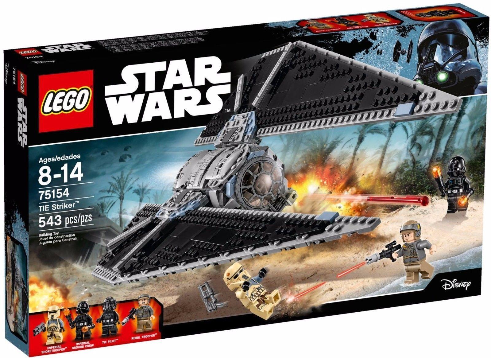 NEW LEGO Star Wars 75154 TIE Striker & 4 figures: Pilot Stormtrooper Rebel Crew