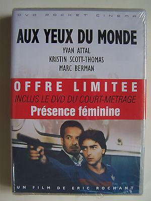 AUX YEUX DU MONDE + PRESENCE FEMININE - ERIC ROCHANT - OFFRE 2 DVD - NEUF -