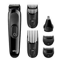 Braun Multi Hair Beard Clipper Trimmer Kit Set Electric Shaver Cutter Ear Nose